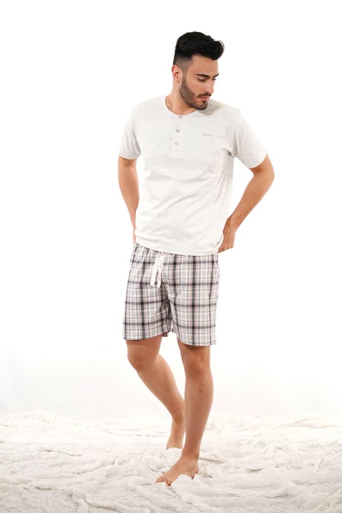 pijama de hombre algodon verano