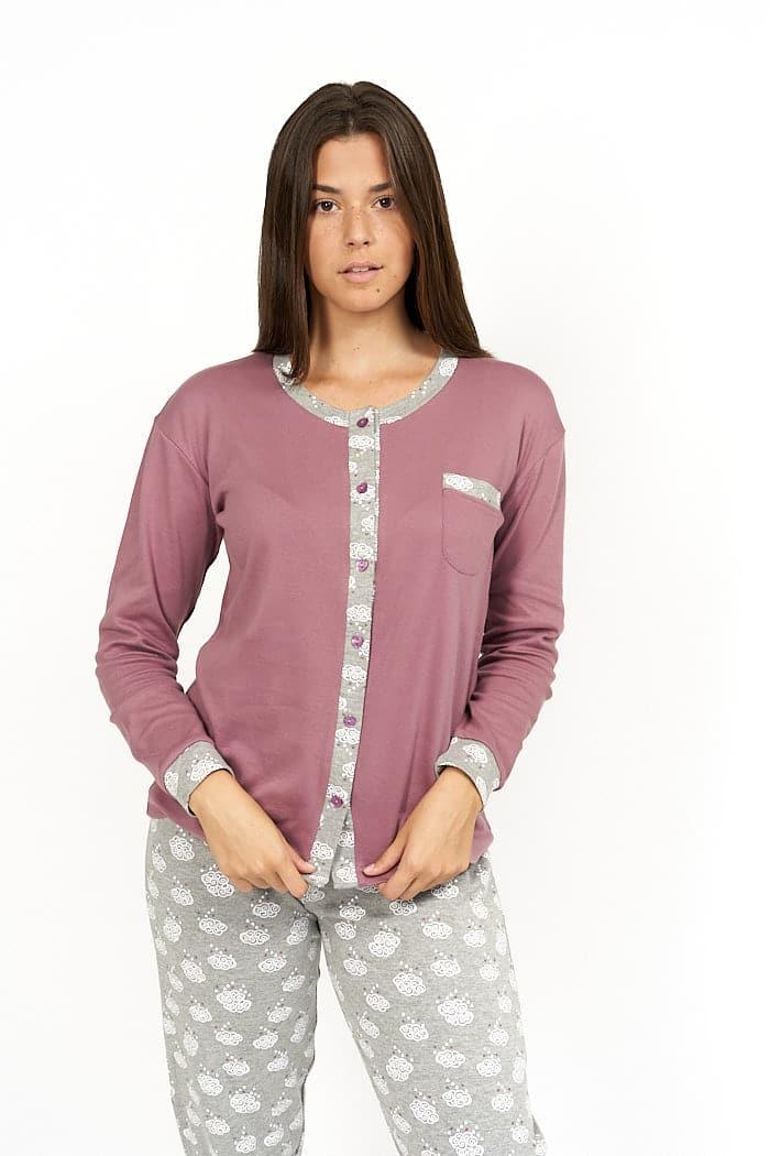 Pijama abotonado