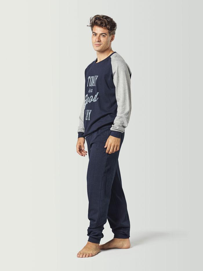 pijama básico para hombre