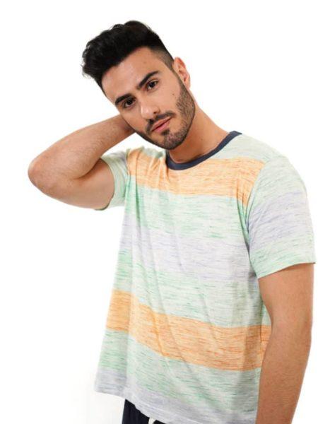 Pijama color flúor para hombre