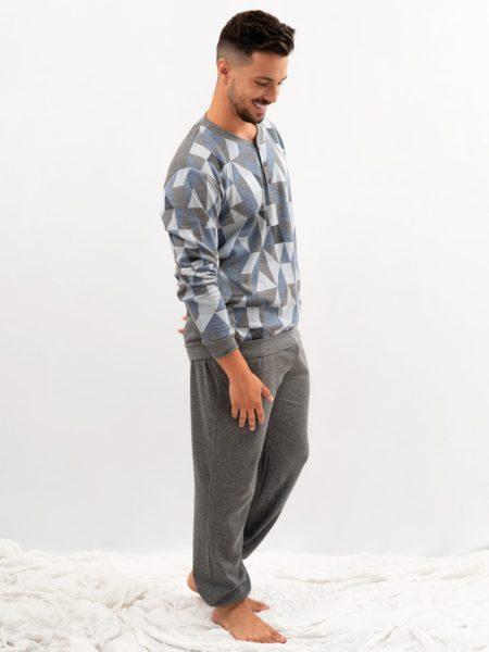 pijama de hombre estampado