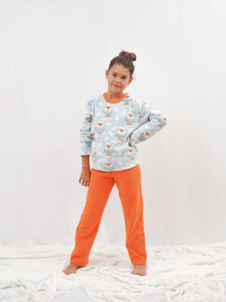 pijama polar de niña