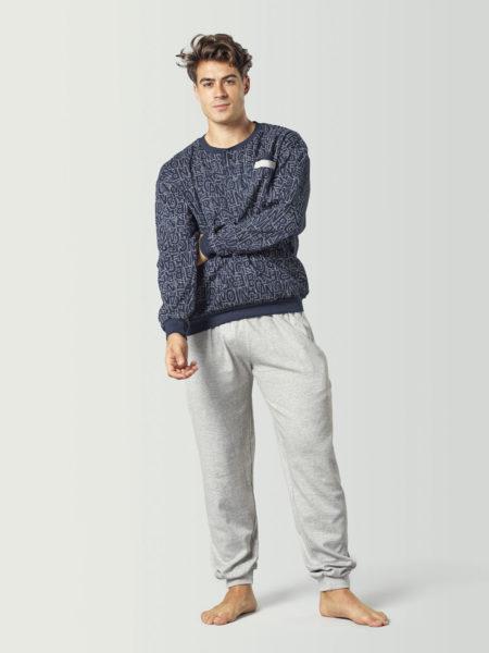 Pijama sport largo para hombre