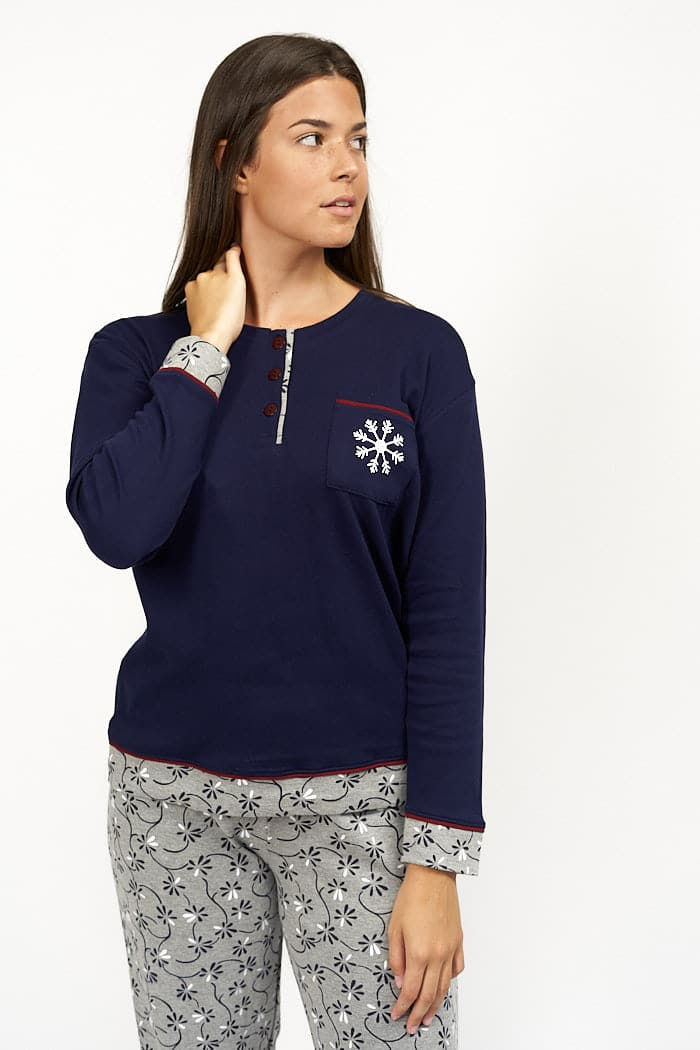 Pijama navidad mujer