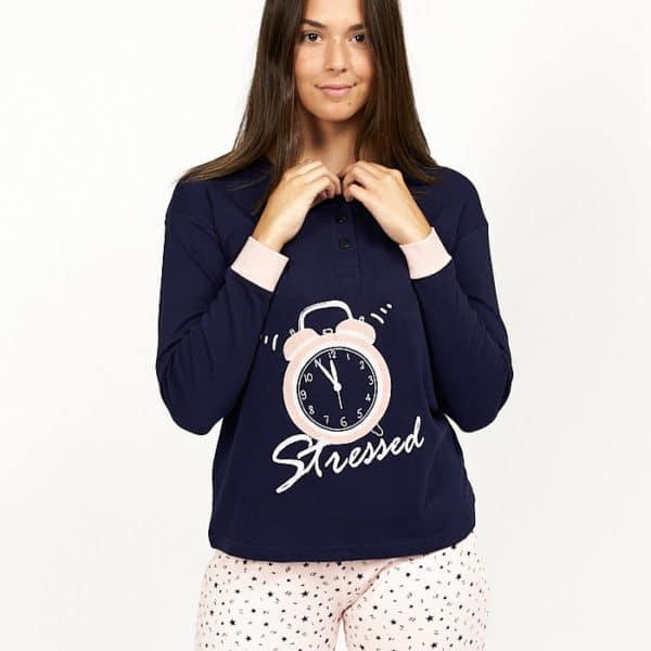 Pijama reloj