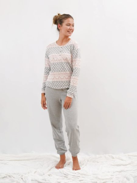 Pijama de mujer bonito algodon