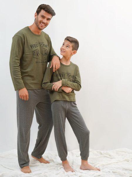 pijama algodon padre e hijo