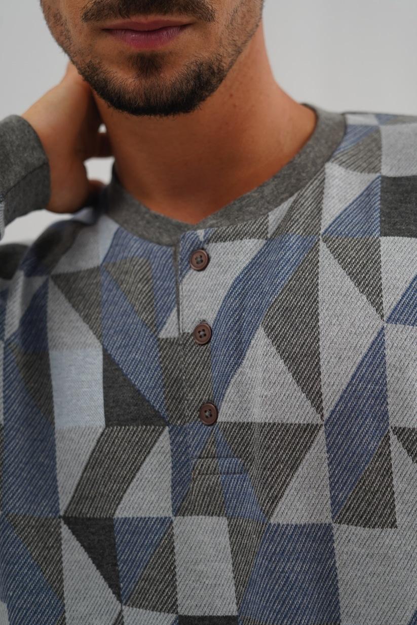 pijama de hombre de cuadros