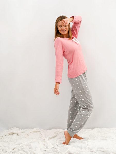 pijama de mujer de algodon de invierno