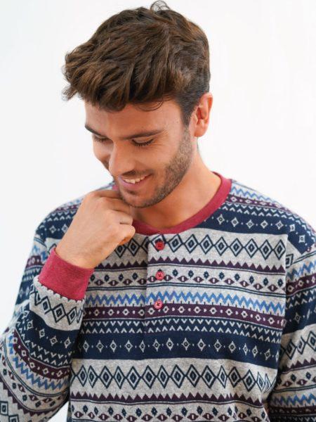 pijama de hombre de navidad