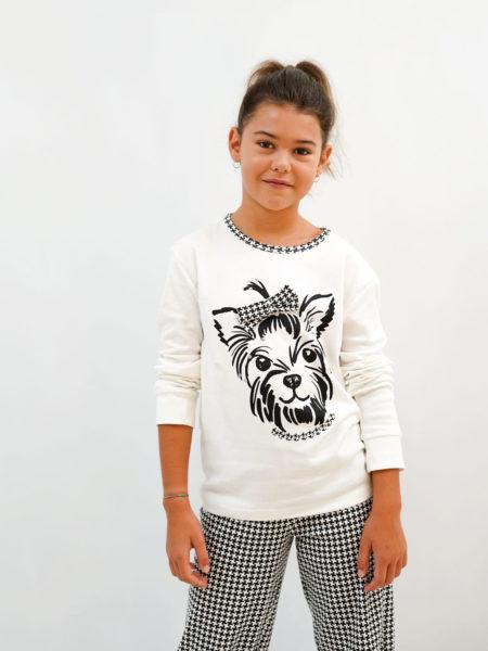 pijama de niña de invierno