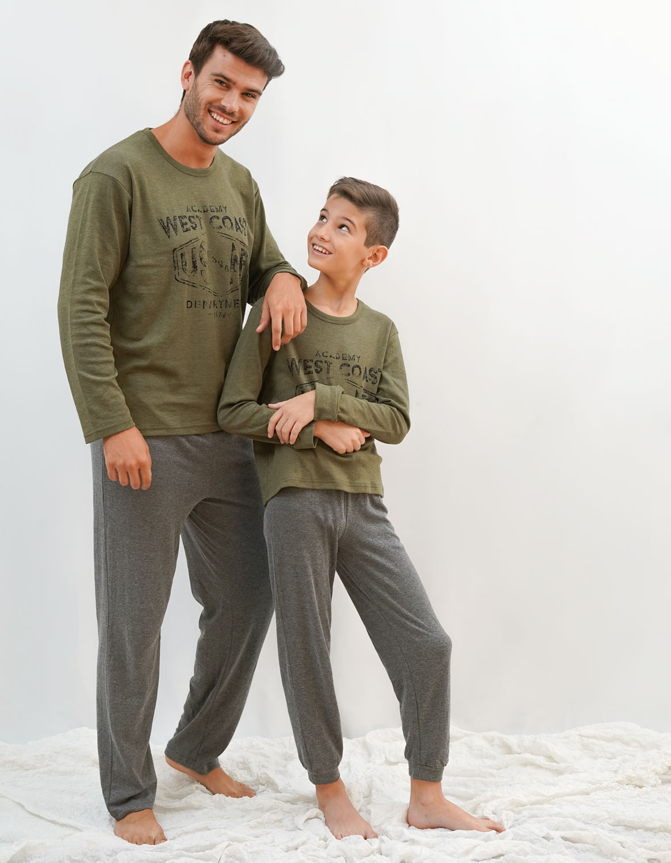 pijama para familia padre e hijo