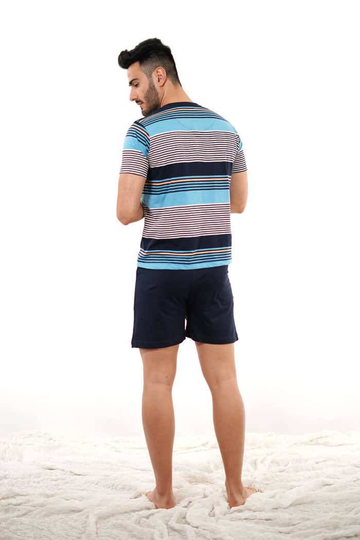 Pijama pantalón corto manga corta